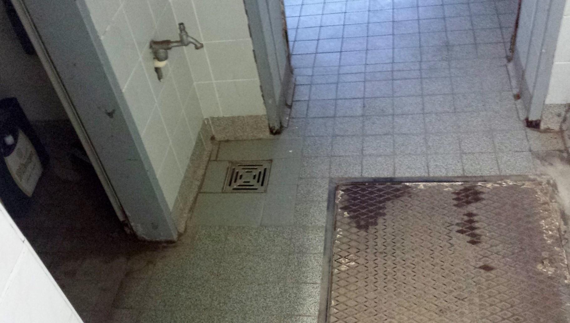 Zugang zur Dusche
