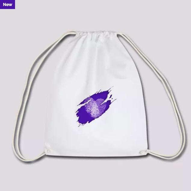 Purple Inside Heart 2019 | Spreadshirt