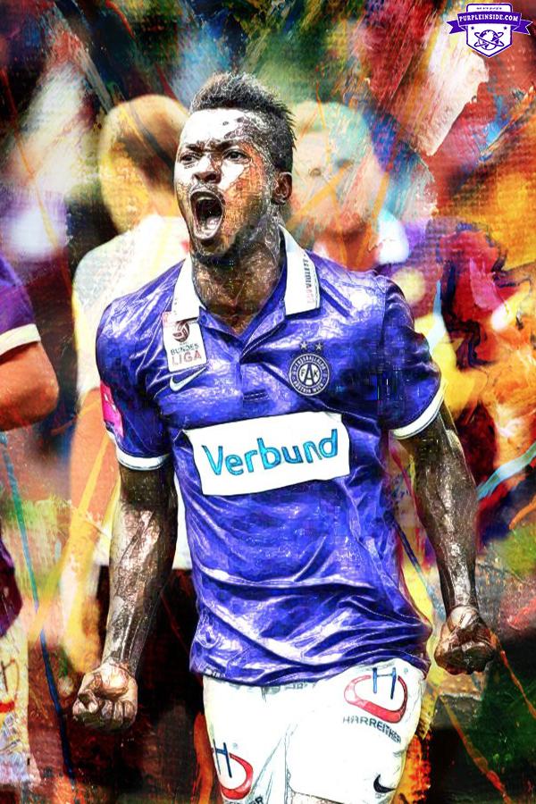 Olarenwaju Larry Kayode - FK Austria Wien