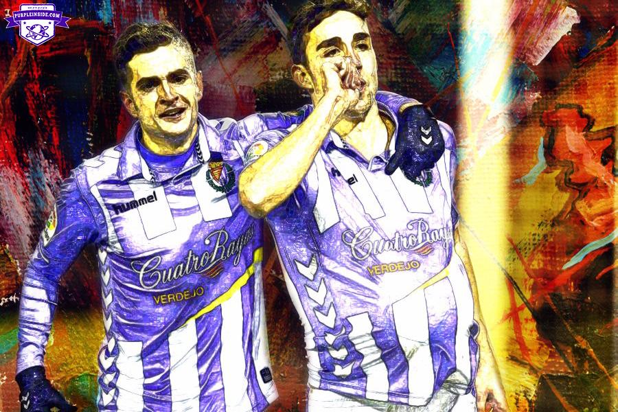Jaime Mata Arnaiz and Juan Villar Vázquez - Real Valladolid