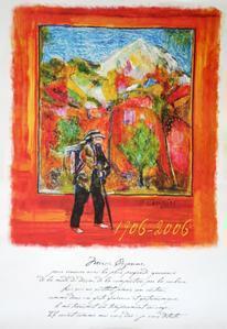 Cézanne par JF Savornin