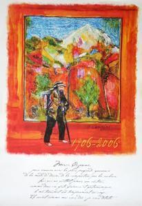 Cézanne vu par JF Savornin
