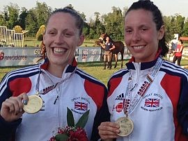 2012 Rome: Mhairi Spence is the new World Champion and Samantha Murray takes bronze to state their Olympic credentials
