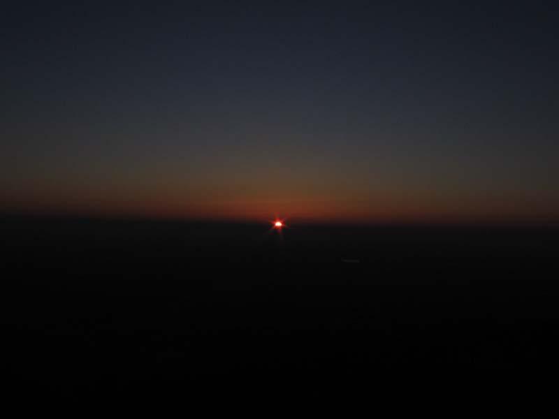 Sonnenaufgang Sonnwende im März, anschl. kleine Wanderung am Odilienberg