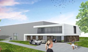 Produktionshalle und Verwaltung mit Ausstellung  in Montabaur
