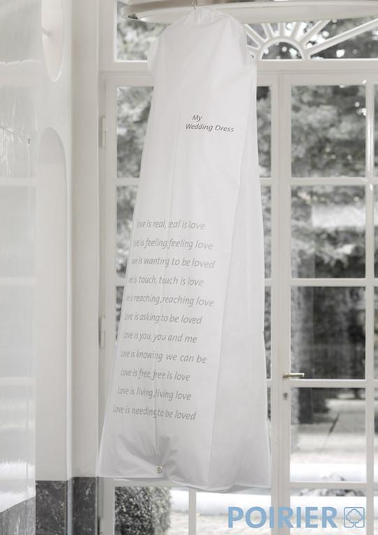Kleidersack extra groß für das Brautkleid