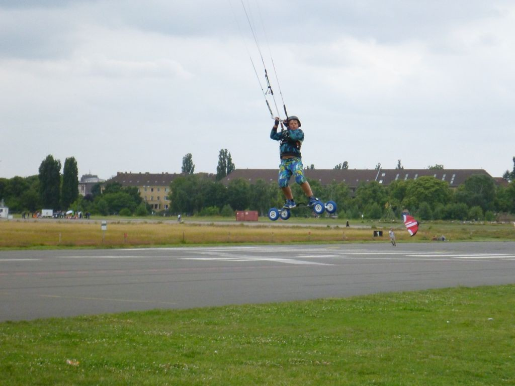 Big Air mit der Speed 4 in 10 qm