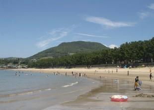 南島原市、白浜海水浴場