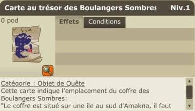 Carte Boulanger Sombre 129.Passage Secret 1 29 Site Dofus De Sok Aris