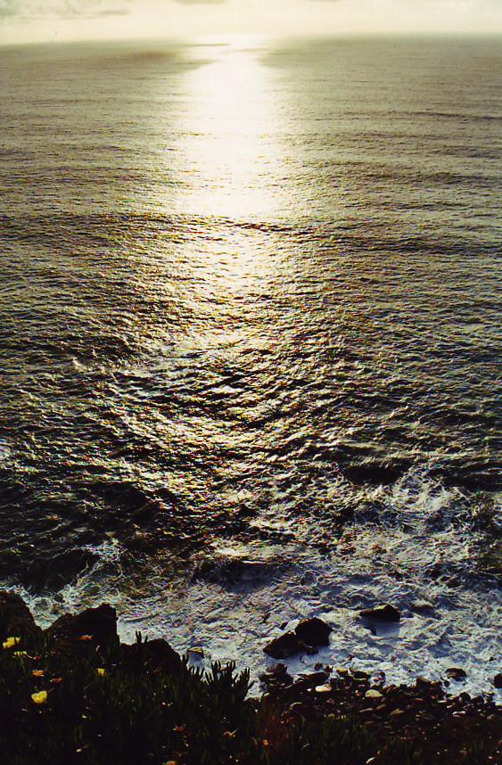 Immer wieder zog es mich an die Grenze von Land und Ozean. Com'è profondo il mare …