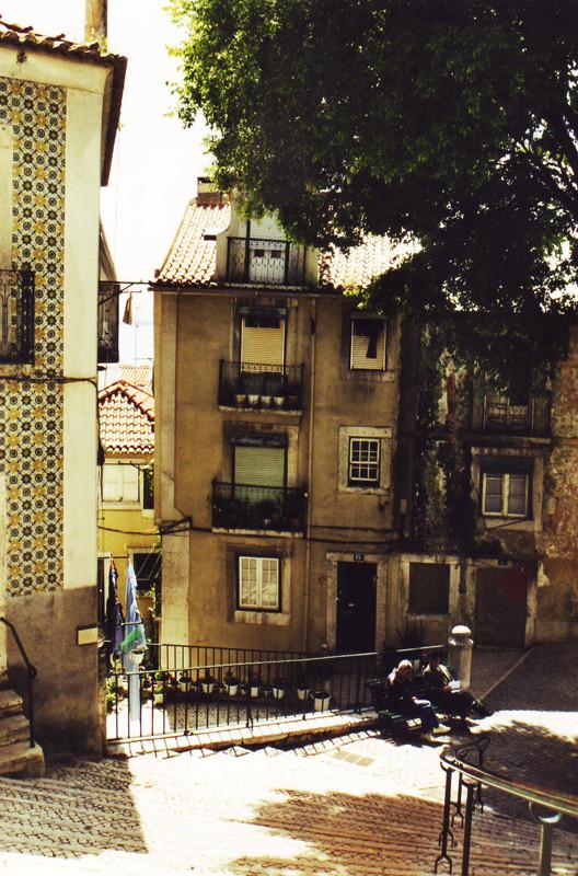 Gepflasterte Treppen, gekachelte Fassaden, begrünte Plätze: Hier erfuhr ich ein neues Lebensgefühl …