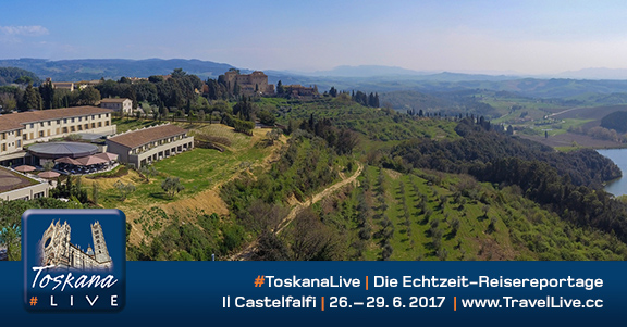#ToskanaLive - Reisebericht aus der Toskana, 26.6. - 29.6.2017