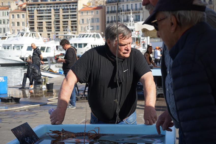 Fischmarkt am Port