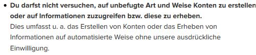 Instagram Sperre reports+ drittanbieter App Rechtsanwalt Sven Nelke