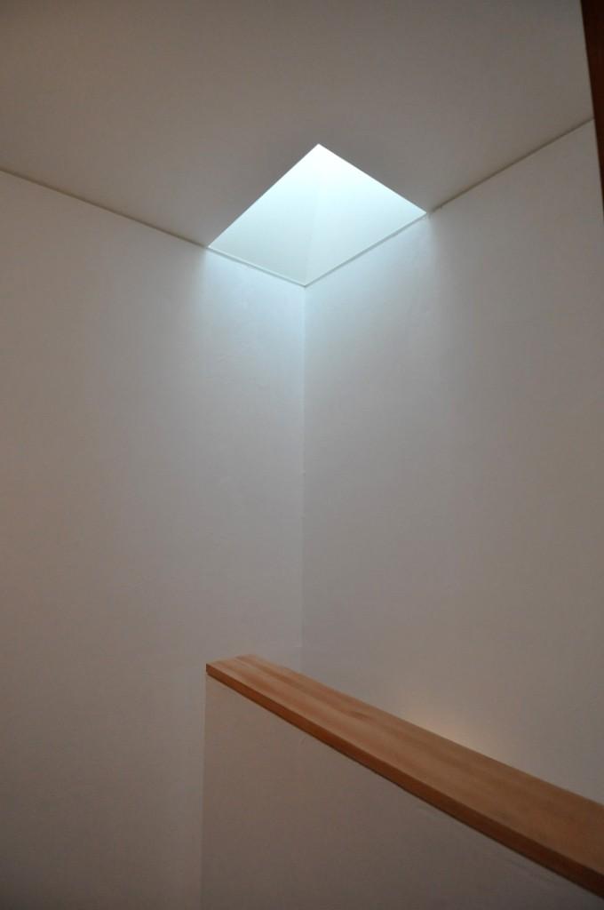 階段室トップライト