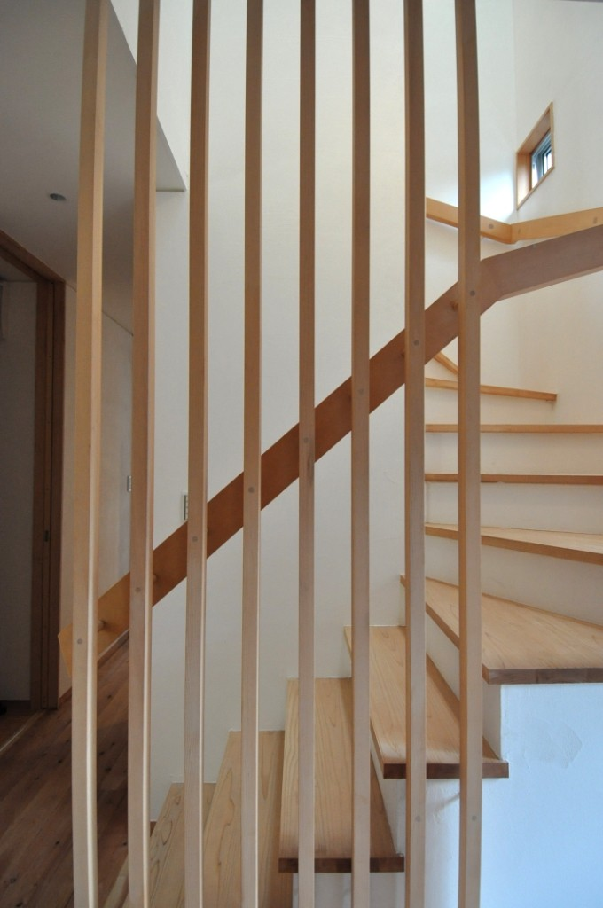 階段室手摺り