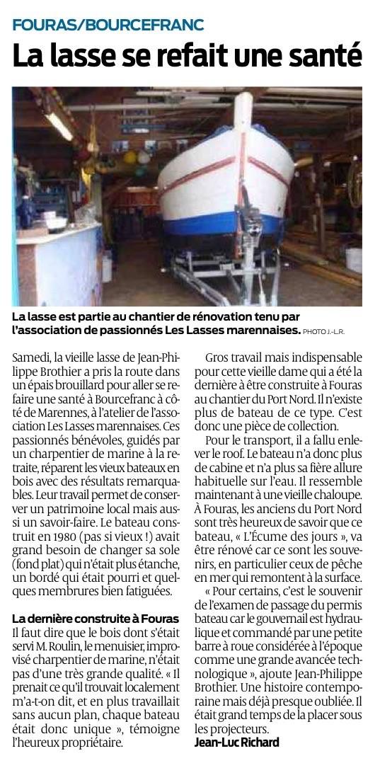 Ecume des jours, sud-ouest, vieux gréement, Bourcefranc-Le Chapus, Pays Marennes-Oléron, Charente-Maritime