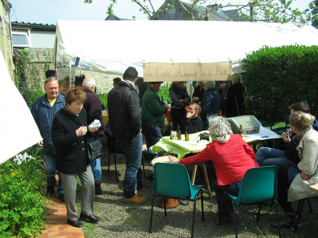 Café Associatif de la Poste - journée découverte du CAP - 6 mai 2012