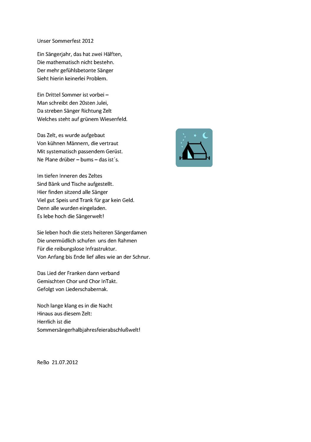 Gedicht von Regina Bolgen