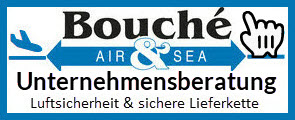 Logo Unternehmensberatung LBA-Audit, sichere Lieferkette der Bouché Air & Sea GmbH