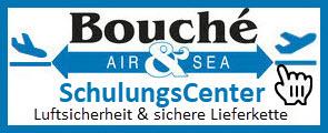 Logo SchulungsCenter Luftsicherheit, sichere Lieferkette der Bouché Air & Sea GmbH