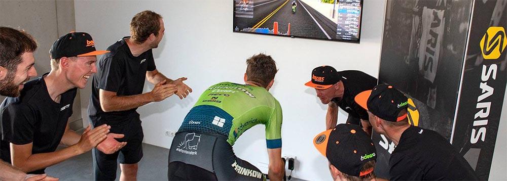 Erfolg in der eLiga für das Team Hrinkow Advarics Cycleang - Foto: Reinhard Eisenbauer