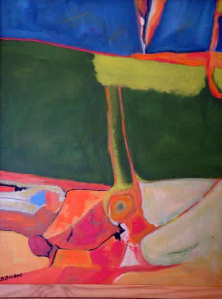 Santa Barbara, oil on canvas, 16 x 20, 2014