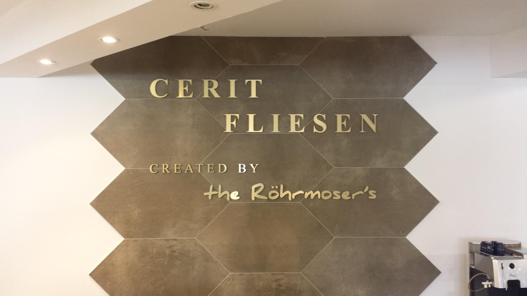 Cerit Fliesen created by the Röhrmosers