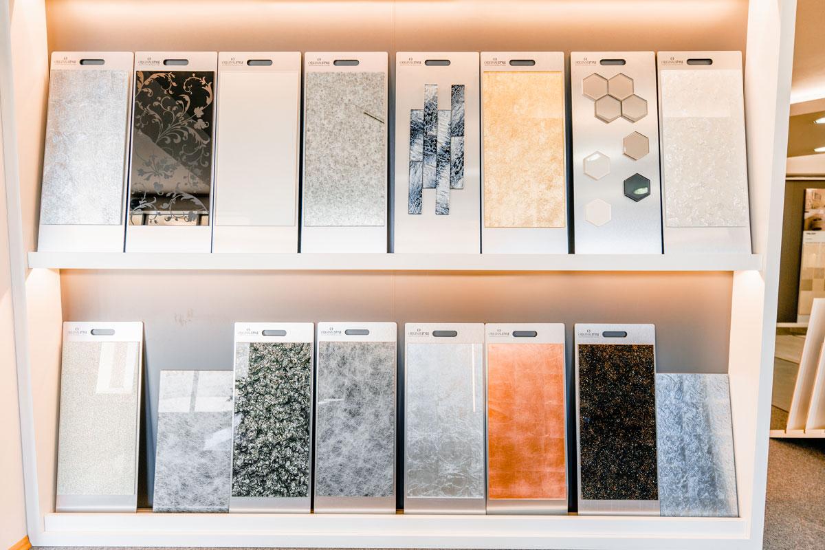 Glasfliesen in enormer Vielzahl - lassen Sie Ihrer Phantasie freien Lauf