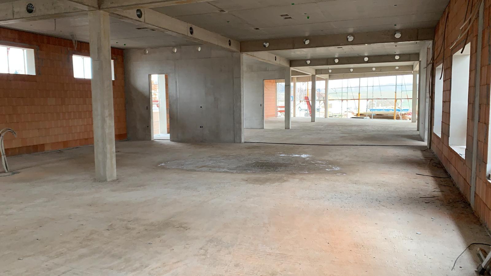 Ein Blick in die künftigen Ausstellungsräume