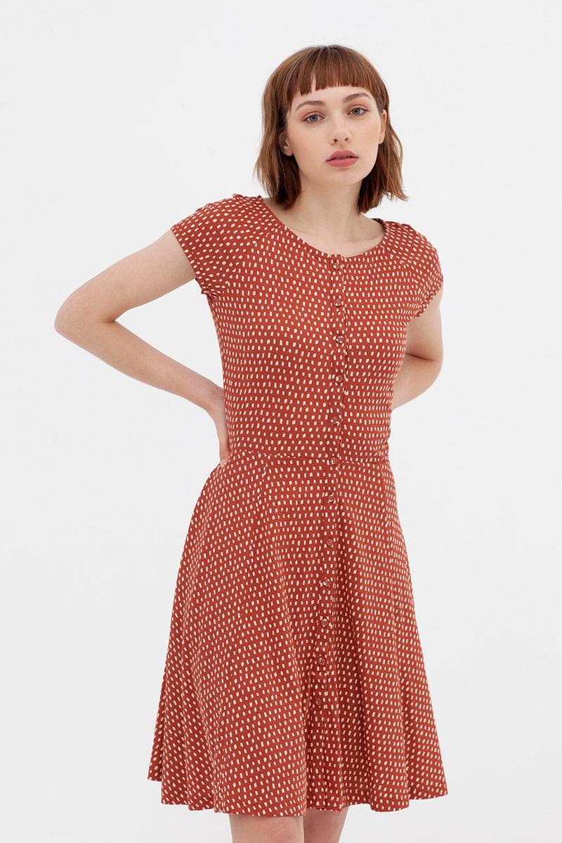 Biokatoen hoodie jurk. Modieus en bewust!