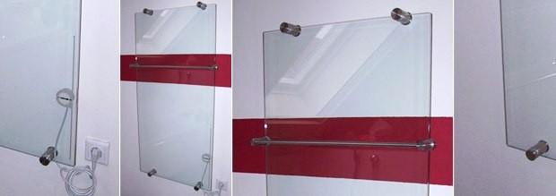 Glaserfachbetrieb Sichert - Glasheizkörper