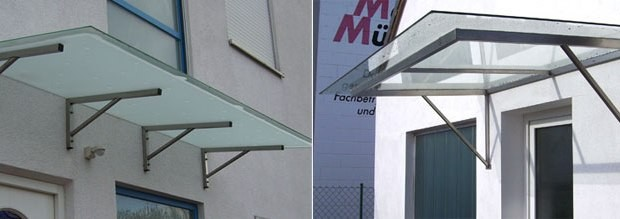 Glaserfachbetrieb Sichert - Glasvordächer