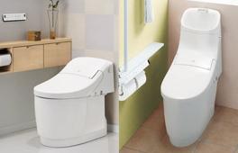 シャワートイレ一体型