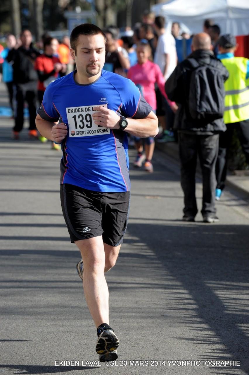 Adrien de Louverné Running