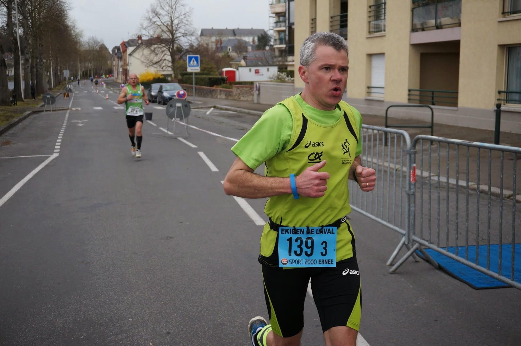 Philippe de Louverné Running