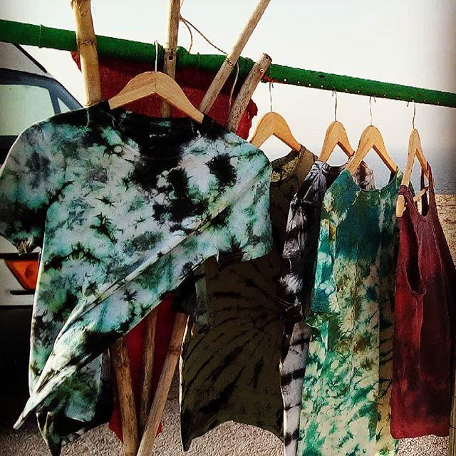 neuerdings bartiken wir auch T-Shirts selber