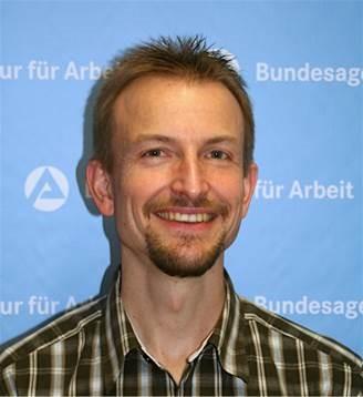 Ulrich Herr, Ansprechpartner der Bundesagentur für Arbeit in der Goldbachschule