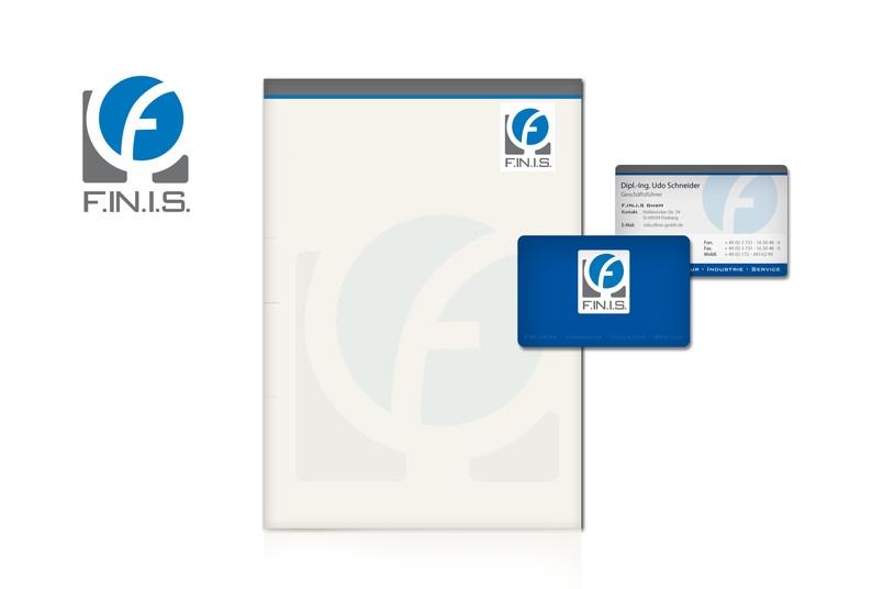 Logodesign, Visitenkarten- und Briefdesign