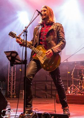 Gil Ofarim beim Teltower Stadtfest, Foto: Dirk Pagels