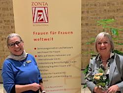 Finanz-Vortrag beim ZONTA Club of Neumünster frau&vermögen Ute R. Voß
