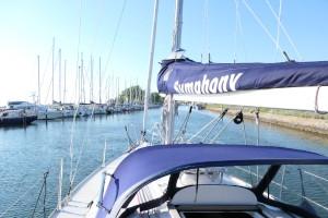 Nicht nur ein Segelboot, sondern auch Geld sollte immer gut angelegt werden!  frau und vermögen Ute Voß