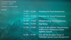 Fondsfrauen Gipfel in Mannheim frau & vermögen