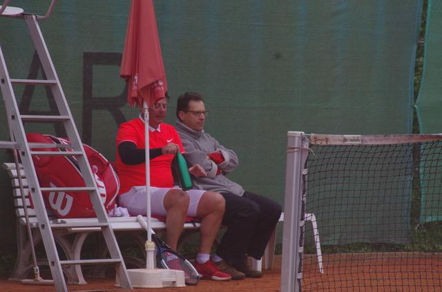 Aktive Beratung durch Mannschaftskamerad Stephan Nichtweiß