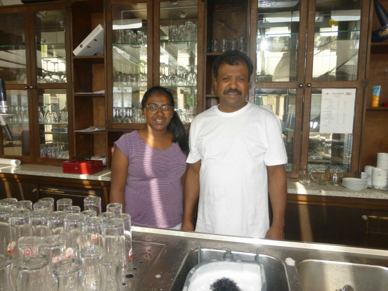Jega und Matusha Jegatheeswaran.