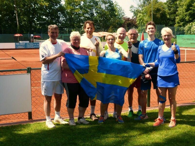 """Das Team """"Schweden"""" - Blondinen bevorzugt!"""