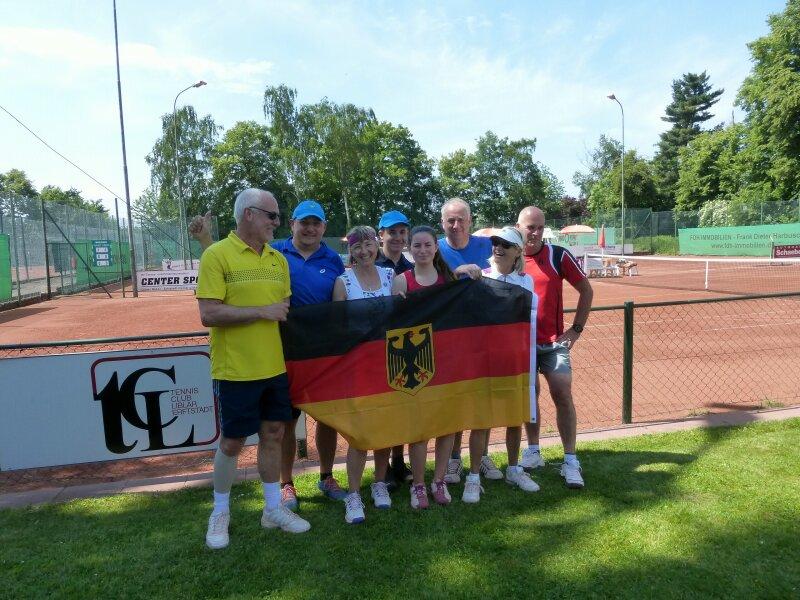 Team Deutschland diesmal nur als Dritter auf dem Treppchen.