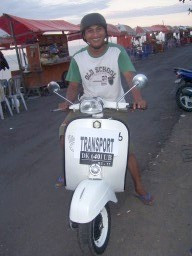"""a guy offering """"transport"""""""