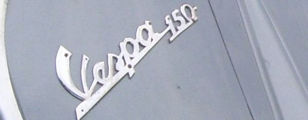 type- sign: vespa 150