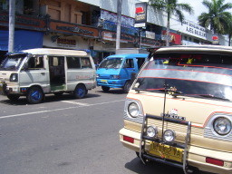 small public transport car
